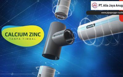 Calcium Zinc Pada Pipa PVC Rucika