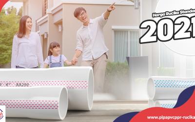 Harga Pipa PVC Rucika Standard 2021 Terbaru